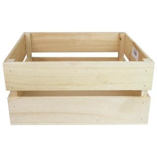 Walnut Hollow Crate Rustic Lg