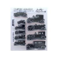 Stampers Anonymous Tim Holtz Vintage Auto Cling Stamps