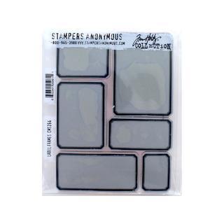 StampersA THoltz Cling Stamp Label Frames