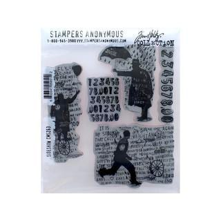 Stampers Anonymous THoltz Sideshow Cling Stamp