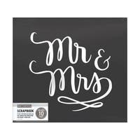 K&Co Scrapbook 12x12 Mr &  Mrs Wedding