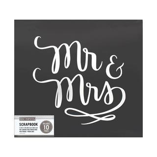 K&Co Scrapbook 12x12 Mr & Mrs Wedding