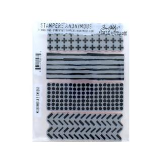 Stampers Anonymous Tim Holtz Mixed Media 2 Cling Mounted Stamps