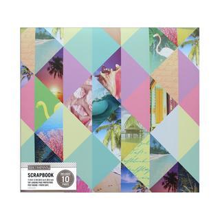 K&Co Scrapbook 12x12 Photo Collage Pastel