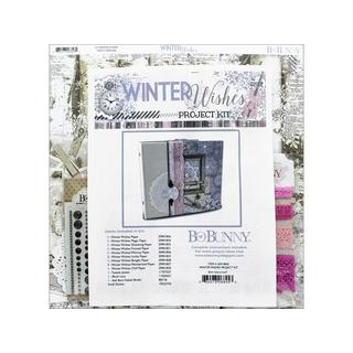 Bo Bunny Winter Wishes Project Kit