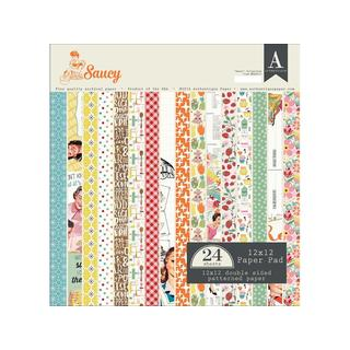 Authentique Saucy Paper Pad 12x12