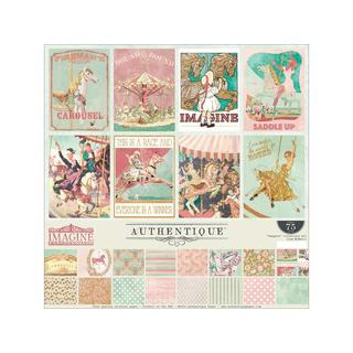 Authentique Imagine Sticker Collection Kit