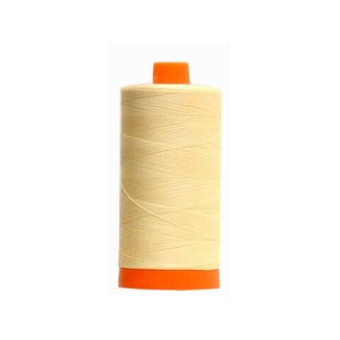 Aurifil Ctn Thread Mako 50wt 1300m Butter