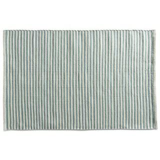 TAG Woven Pencil Stripe Blue Indoor/Outdoor Rug (2' x 3')