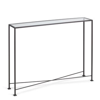 TAG Console Glass Table Diversey