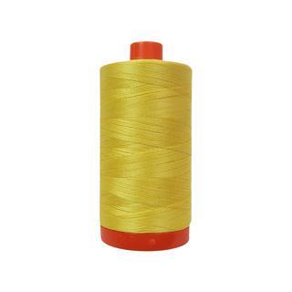 Aurifil Ctn Thread Mako 50wt 1300m Pale Yellow