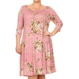 Women's Plus Size Mixed Tapestry Dress