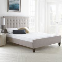 Sleep Sync Heidi Queen Tweed Upholstered Bed frame with two color choices