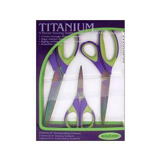 Sullivans Sewing Scissor Set Titanium 3pc|https://ak1.ostkcdn.com/images/products/16201069/P22572530.jpg?impolicy=medium
