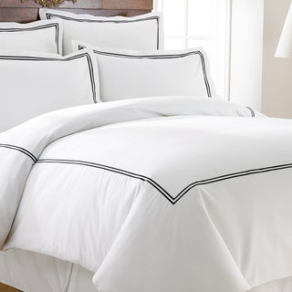 Amrapur Overseas Cotton Blend 3-Piece Double Marrowing Duvet Set