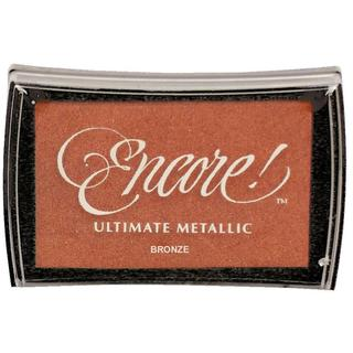 Encore! Ultimate Metallic Ink Pad Bronze