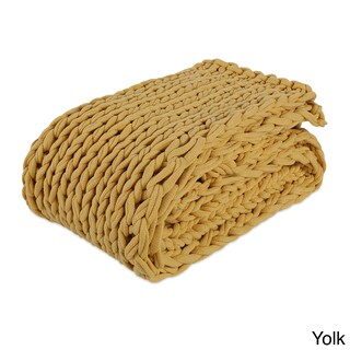Berkshire Blanket Twice Knitted Chunky Throw - 50-inch x 60-inch