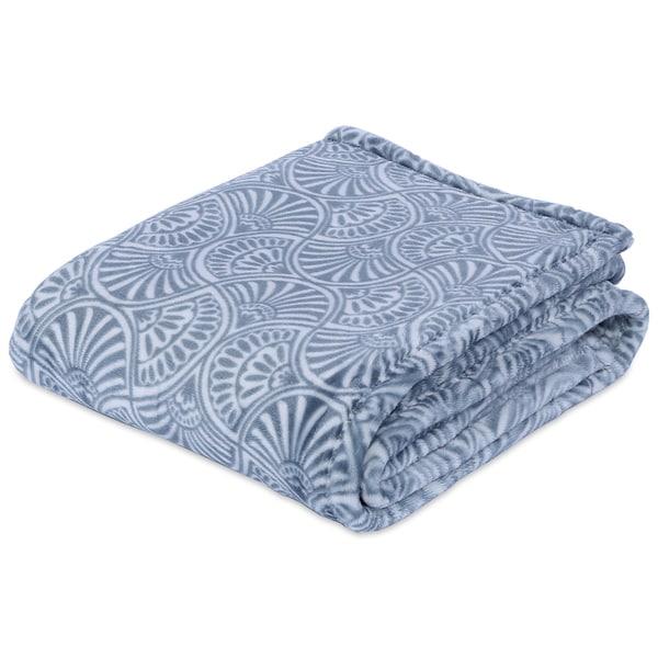 Berkshire Blanket Plush Fan Printed Throw