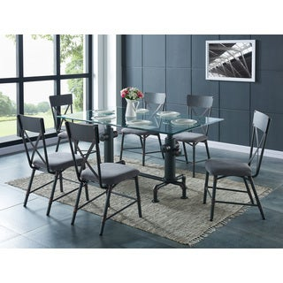 Bronx Pipe Style Metal Side Chairs (Set of 2)