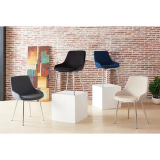 Link to Cassidy-Velvet/Chrome Side Chair (set of 2) Similar Items in Dining Room & Bar Furniture
