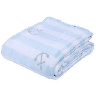 Berkshire Blanket Scattered Anchors VelvetLoft Blanket