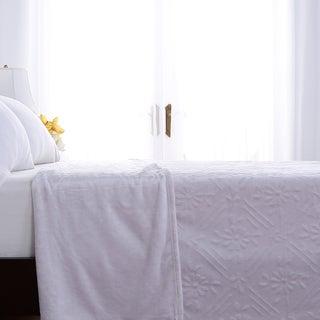 Berkshire Blanket Airblown Diamond VelvetLoft Blanket