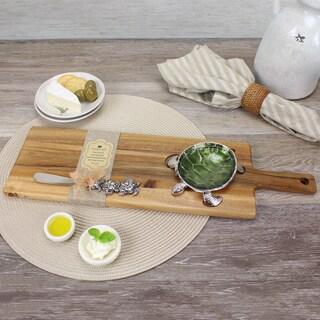 Pampa Bay Turtle Wood Board Set (3pc)