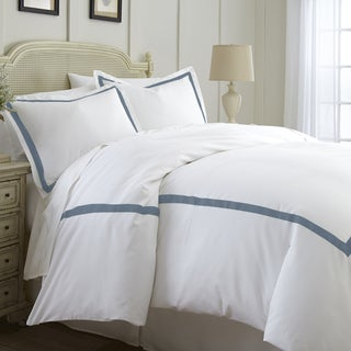 Amrapur Overseas Cotton Blend 3-Piece Satin Ribon Duvet Set