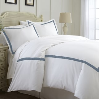 Amrapur Overseas Cotton Blend 3-piece Satin Ribon Duvet Cover Set