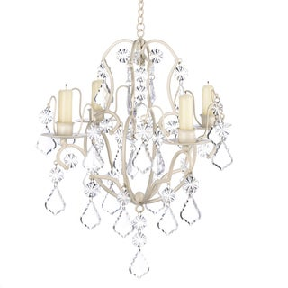 Koehler Home Decor Ivory Baroque Candle Chandelier