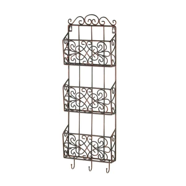 Koehler Home Decor Vintage Charm Triple Wall Rack