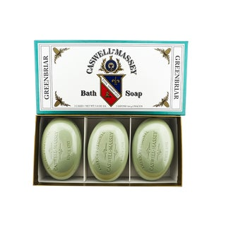 Caswell-Massey 5.8-ounce Greenbriar Soap (Pack of 3)