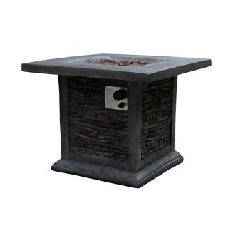Guanacaste Square Gas Outdoor Fire Pit