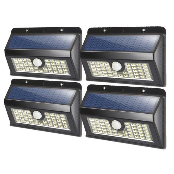 Five Solar Lights 45 LED Outdoor Garden Wireless Security Motion Rainproof