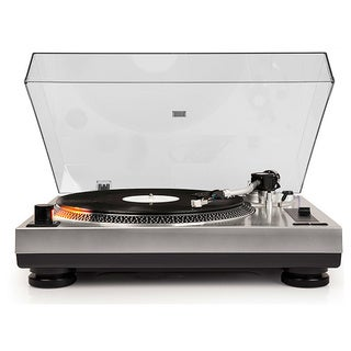 C100 Turntable- Silver