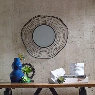 INK+IVY Bringham Black Decor Mirror