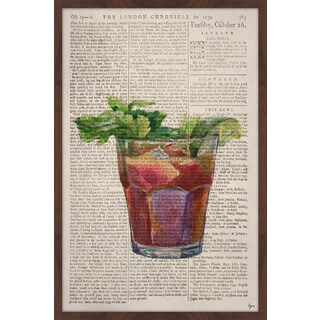 'Bloody Mary 2' Framed Painting Print