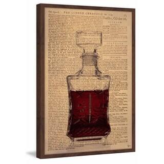 'Red Spirit' Framed Painting Print