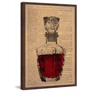 'Rose Wine' Framed Painting Print
