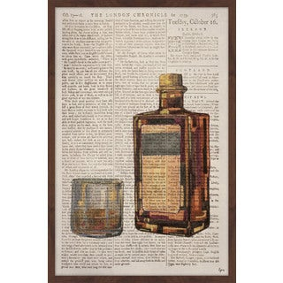 'Bourbon Temptation' Framed Painting Print