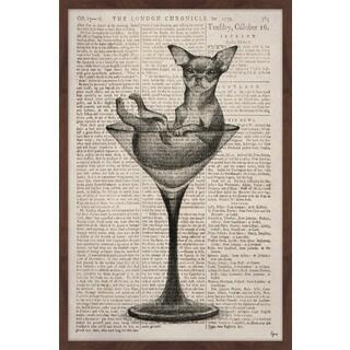 'Drink Me' Framed Painting Print