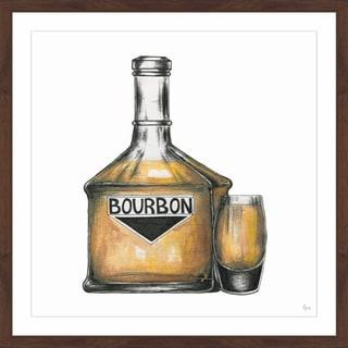 'Bourbon Mood' Framed Painting Print