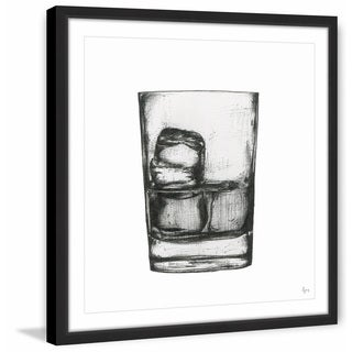 Marmont Hill - Handmade Bourbon on the Rocks Framed Print
