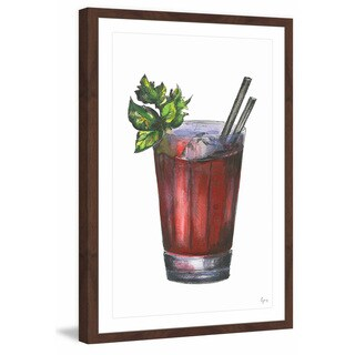 'Devil's Drink' Framed Painting Print