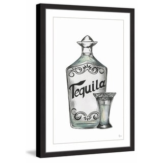 'Tequila Shot' Framed Painting Print