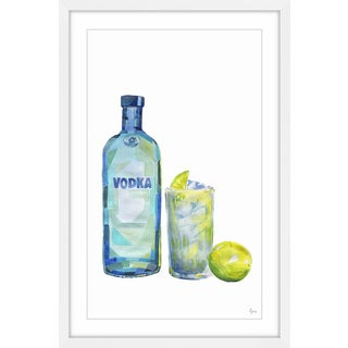 'Absolut Lime' Framed Painting Print