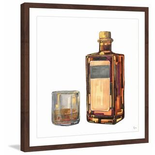 'Bourbon Time' Framed Painting Print