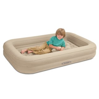 Intex Kidz Travel Airbed with Hand Pump