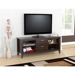 Inval Modern Espresso 60-inch TV Stand