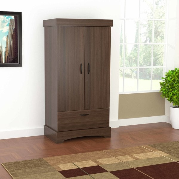 Inval Traditional 2 Door Armoire/Wardrobe
